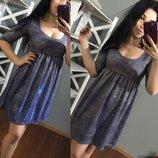 Платье хамелеон люрекс