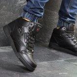 Reebok ботинки мужские зимние черные 6849