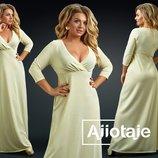 Платье вечернее большие размеры 23724 цвета