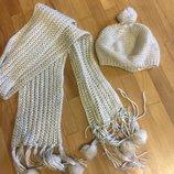Комплект шапка шарф