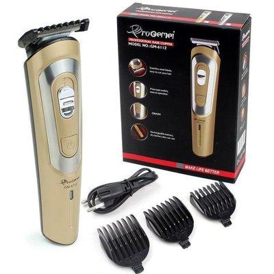 Машинка для стрижки волос Gemei аккумуляторная