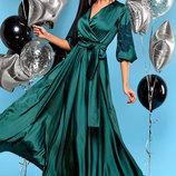 Безумно роскошное вечернее платье из шелка Luna