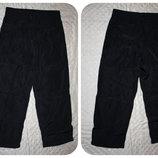 Черные болоневые штаны на флисе р.98-116