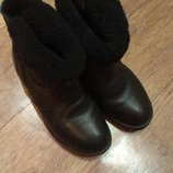 Ботинки зимние.Сапоги.кожанные
