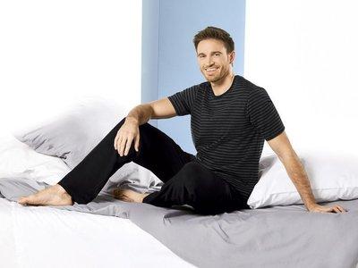 Мужская трикотажная пижама домашний костюм Livergy Германия, футболка штаны