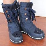 Зимние сапоги, дутики, сноубутсы ботинки Amely kids р32-37