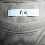 Мужская кофта свитшот толстовка мягкий бежевый Find M