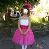 продам очень красивое платье на 5-8 лет на рост 122-128 см в отличном состоянии, пересылаю, в компле