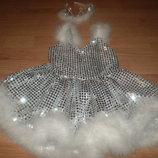 карнавальный костюм карнавальное платье снежинка