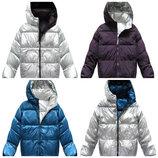 Двусторонняя зимняя женская куртка