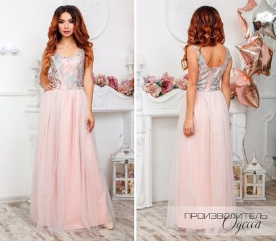aca17e75131 Платье Цвет Верх Серебро