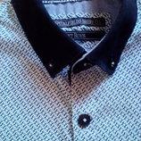 Стильная рубаха с узором