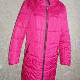 Зимняя удлиненная куртка Р.54