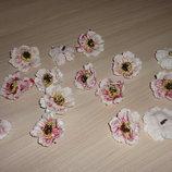 Цветы-Головки. Мак розовый