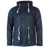 Очень классная парка lee cooper размер s зимняя куртка мужская