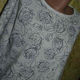 Свитшот S/M, женский свитшот, свитер, тонкий свитер, нарядный женский свитер, белый свитер, свитер