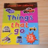 Things that go, детская книга на английском языке