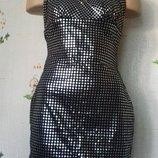 Ночное платье диско, новогоднее. lycra