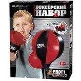 Боксерский набор боксерская груша на стойке,перчатки . 0331