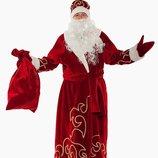 Карнавальный костюм мужской Дед Мороз нерпа