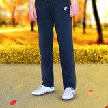 Теплые спортивные штаны прямого покроя. 46-54р