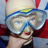 Фирменная маска для плавания дайвинга .Sportx
