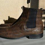 Кожаные сапоги ботинки челси Rockport.