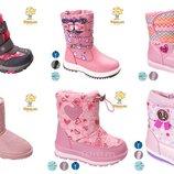 Термо ботинки дутики угги tom.m для девочек. отправка в день оплаты.
