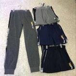 Спортивные штаны на флисе для мальчиков 134-140