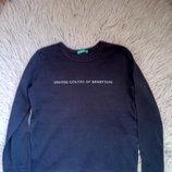 Черный реглан на девочку Benetton, 92-98 см