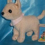 шикарная мягкая игрушка мини собачка Чихуахуа Чи Чи Лав Chi Chi Love Simba Германия оригинал