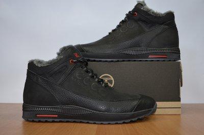 Ботинки мужские зимние ботинки Ecco.