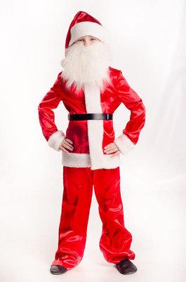 Детский карнавальный костюм для мальчика Санта Клаус 98-140р
