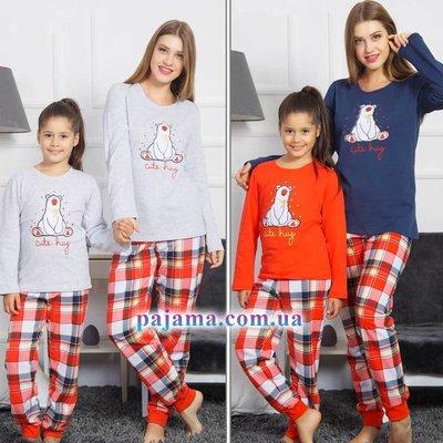 5210fdc95730 Пижама байковая детская 9-16 лет familylook: 456 грн - детские ...