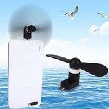 Micro USB вентилятор Мини Охлаждения Cooler Для телефонов
