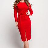 Женское платье с оригинальным воротником Дейзи