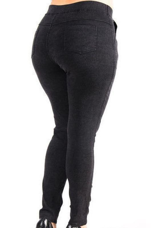 2836e152575b9 Теплые джинсы-джеггинсы на меху повседневные брюки большие размеры,5хл,6хл,7хл:  360 грн - женские брюки больших размеров в Харькове, объявление №19572616  ...