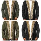 Куртка парка мужская с мехом