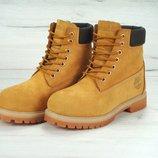 Зимние женские ботинки Timberland, ботинки с иск. мехом