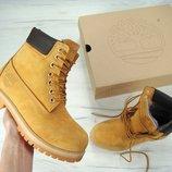Зимние мужские ботинки Timberland, мужские ботинки с натуральным мехом