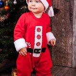 Новогодний костюм для малышей Санта, Помощник Санты