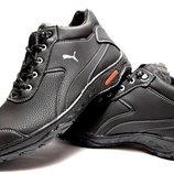 Ботинки мужские зимние в стиле Puma