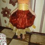 новогоднее платье для девочки 2-5 лет конфетка лисичка цукерка снежинка хлопушка фея