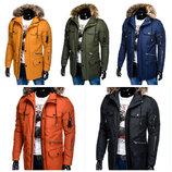 Крутая зимняя мужская куртка парка