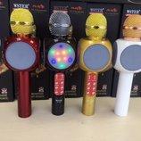 Беспроводной караоке микрофон WSTER разные цвета
