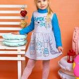 Красивое теплое платье для девочек