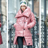 Трендовая куртка-одеяло Катрин. 42 44 S , 44-46 M , 46-48 L р.