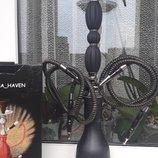 Черный матовый кальян щипцы коробка 60 см