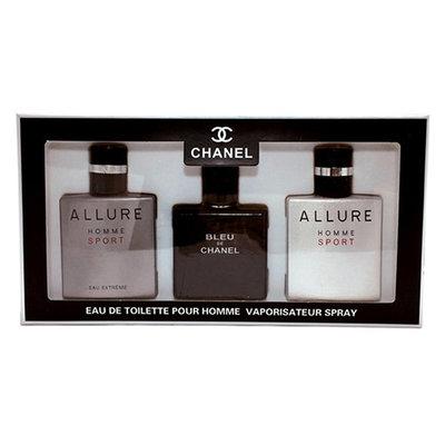 Мужской подарочный набор Chanel Eau de Toilette 3х25мл