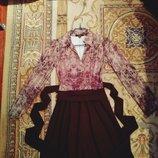 Пора готовится к паздникам Шикарное платье Италия M